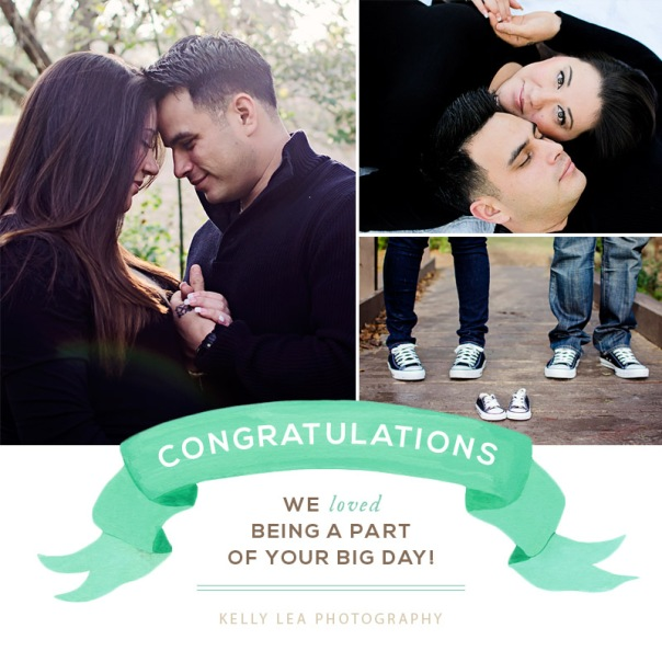 Congratulations Derrick and Amanda